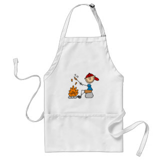 Camper Roasting Hot Dogs Tshirts and Gifts Standard Apron
