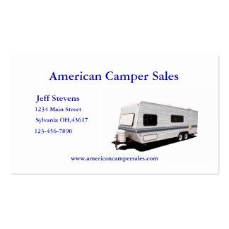 Camper Sales Business Card