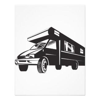 Camper Van Motor Home Retro Invitation
