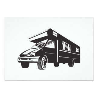 Camper Van Motor Home Retro Personalised Invites
