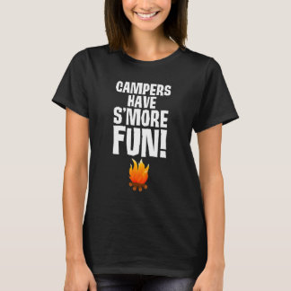 Campers have S'More Fun Great Outdoors T-Shirt