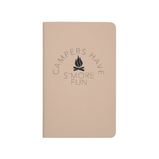 Campers Have S'more Fun Notebook Journal
