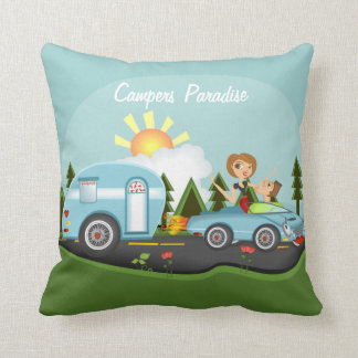 Campers Paridise Cushion