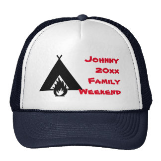 Campfire and Tent Family Reunion Hat