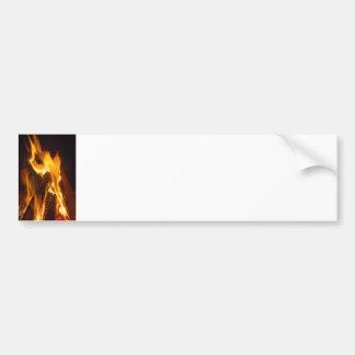 Campfire Glow Bumper Sticker