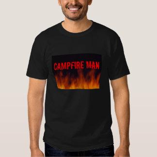 Campfire Man Tee Shirt