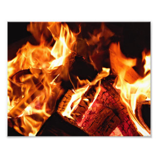 Campfire Photographic Print