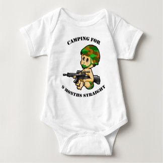 Camping Baby Baby Bodysuit