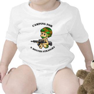 Camping Baby Shirt