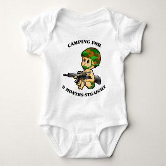 Camping Baby Shirts