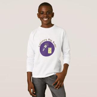 Camping Badge Lightning Bug T-Shirt