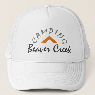 Camping Beaver Creek Trucker Hat