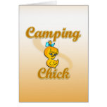 Camping Chick Card