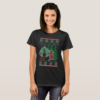 Camping Christmas T-Shirt