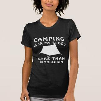 Camping designs t shirt