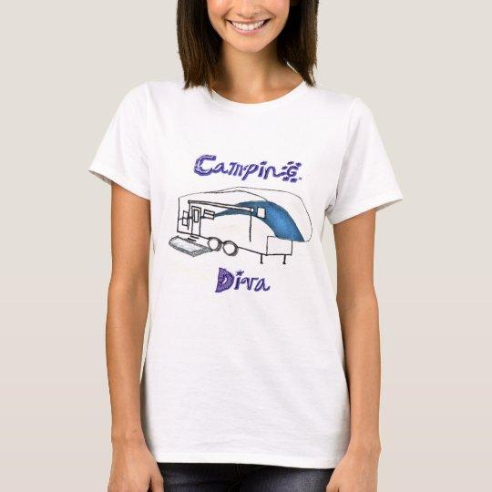Camping Diva T-Shirt