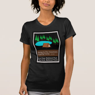 Camping Find your park old school ad design Tee Shirt