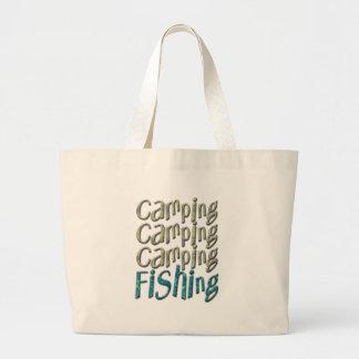 Camping Fishing Tote Bags
