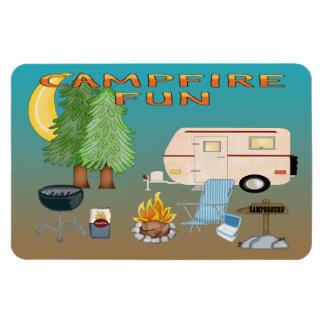 Camping Fun Flexible Magnets