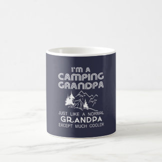 Camping Grandpa Coffee Mug