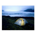 Camping In Iceland Postcard