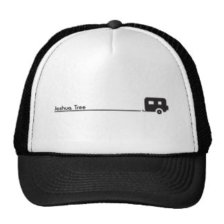 Camping in Joshua Tree with Trailer Camper Graphic Cap