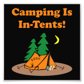 Camping In Tents Art Photo