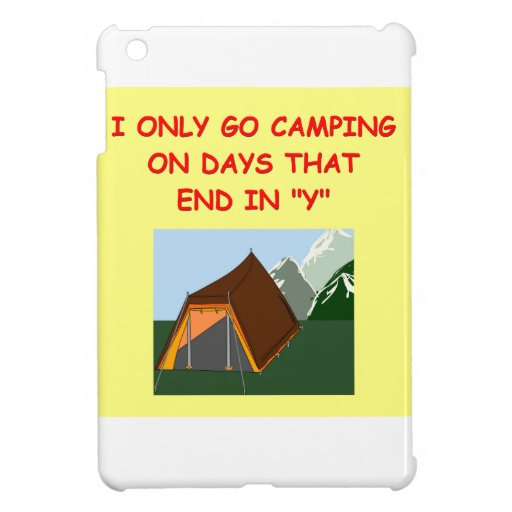 camping cover for the iPad mini