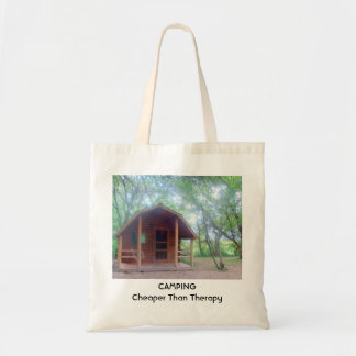Camping is Cheaper than Therapy Tote Bag