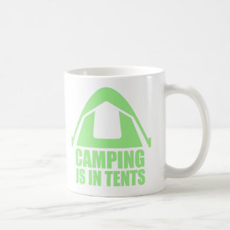 Camping Is In Tents Coffee Mug