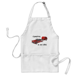 Camping Is My Life Standard Apron