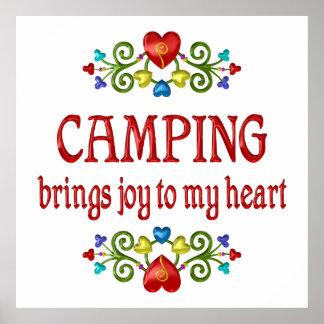 Camping Joy Poster