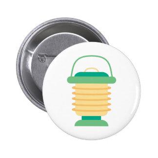 Camping Lantern 6 Cm Round Badge