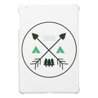 Camping Patch iPad Mini Cases
