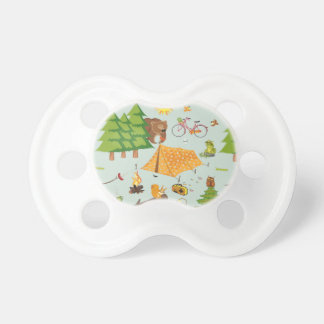 Camping Pattern Baby Pacifiers