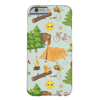 Camping Pattern Barely There iPhone 6 Case