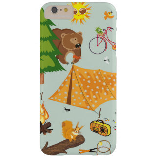Camping Pattern Barely There iPhone 6 Plus Case