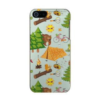 Camping Pattern Incipio Feather® Shine iPhone 5 Case