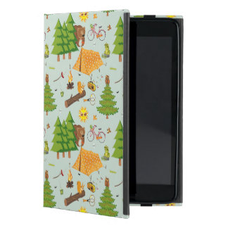 Camping Pattern iPad Mini Case