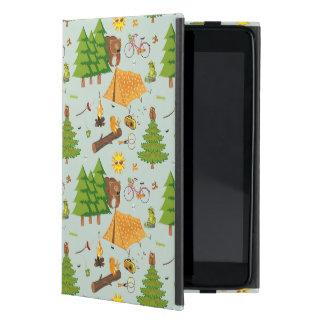 Camping Pattern iPad Mini Cases