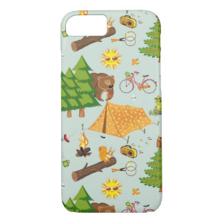 Camping Pattern iPhone 8/7 Case