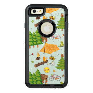 Camping Pattern OtterBox iPhone 6/6s Plus Case
