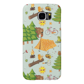 Camping Pattern Samsung Galaxy S6 Cases