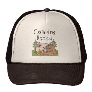 Camping Rocks Mesh Hat