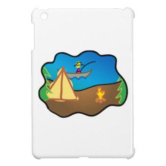 Camping Scene Case For The iPad Mini