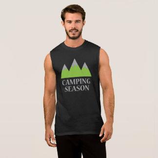 Camping Season Sleeveless Shirt