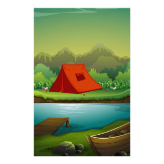 Camping site stationery