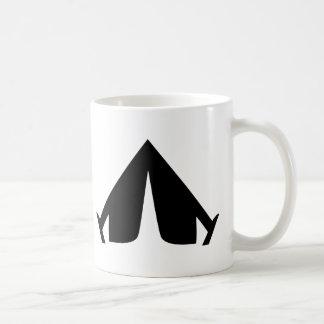 camping tend icon mugs
