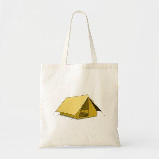 Camping Tent Tote Bag