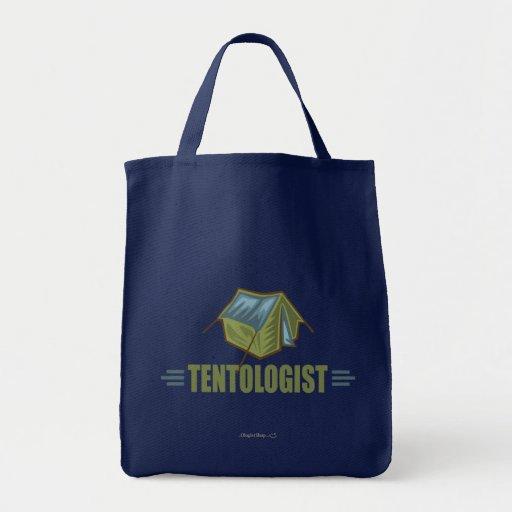 Camping, Tent Tote Bag